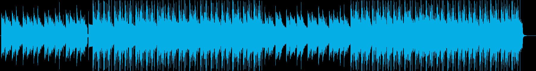 ダークでおしゃれなジャズの再生済みの波形