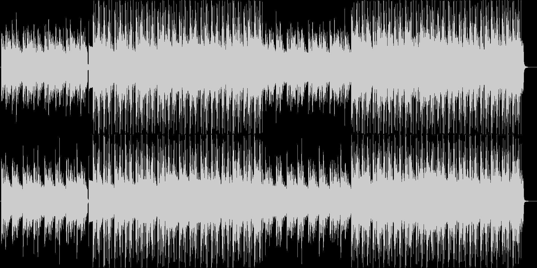 ダークでおしゃれなジャズの未再生の波形