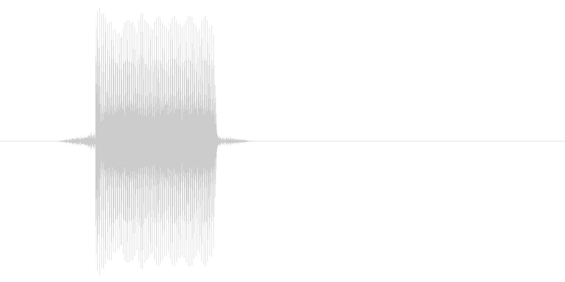 ゲーム(ファミコン風)セレクト音_008の未再生の波形