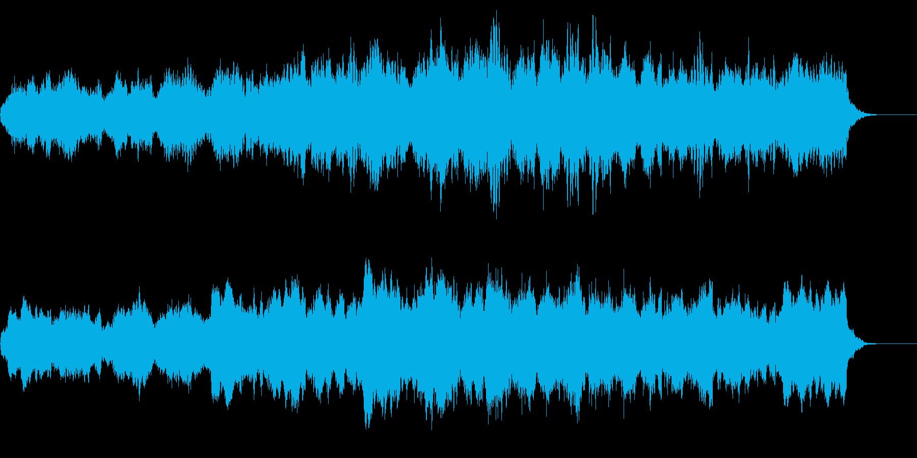 悲しく切ないヴァイオリンソロの再生済みの波形