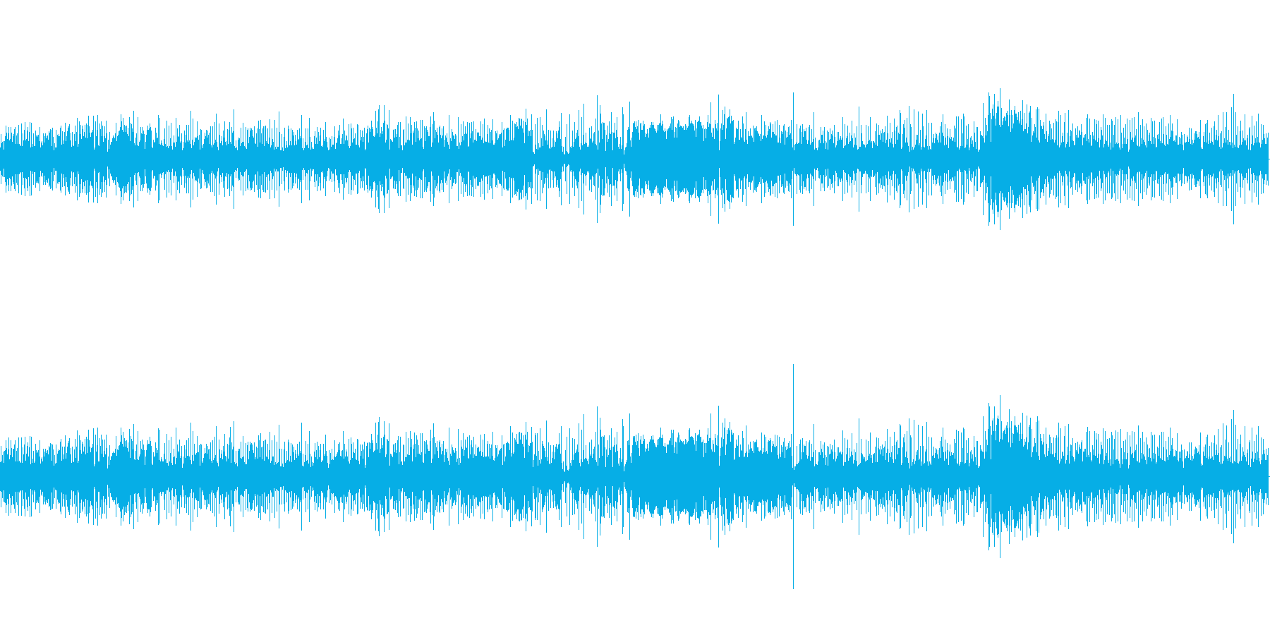 【生音】 足音_キャリーバック_02の再生済みの波形