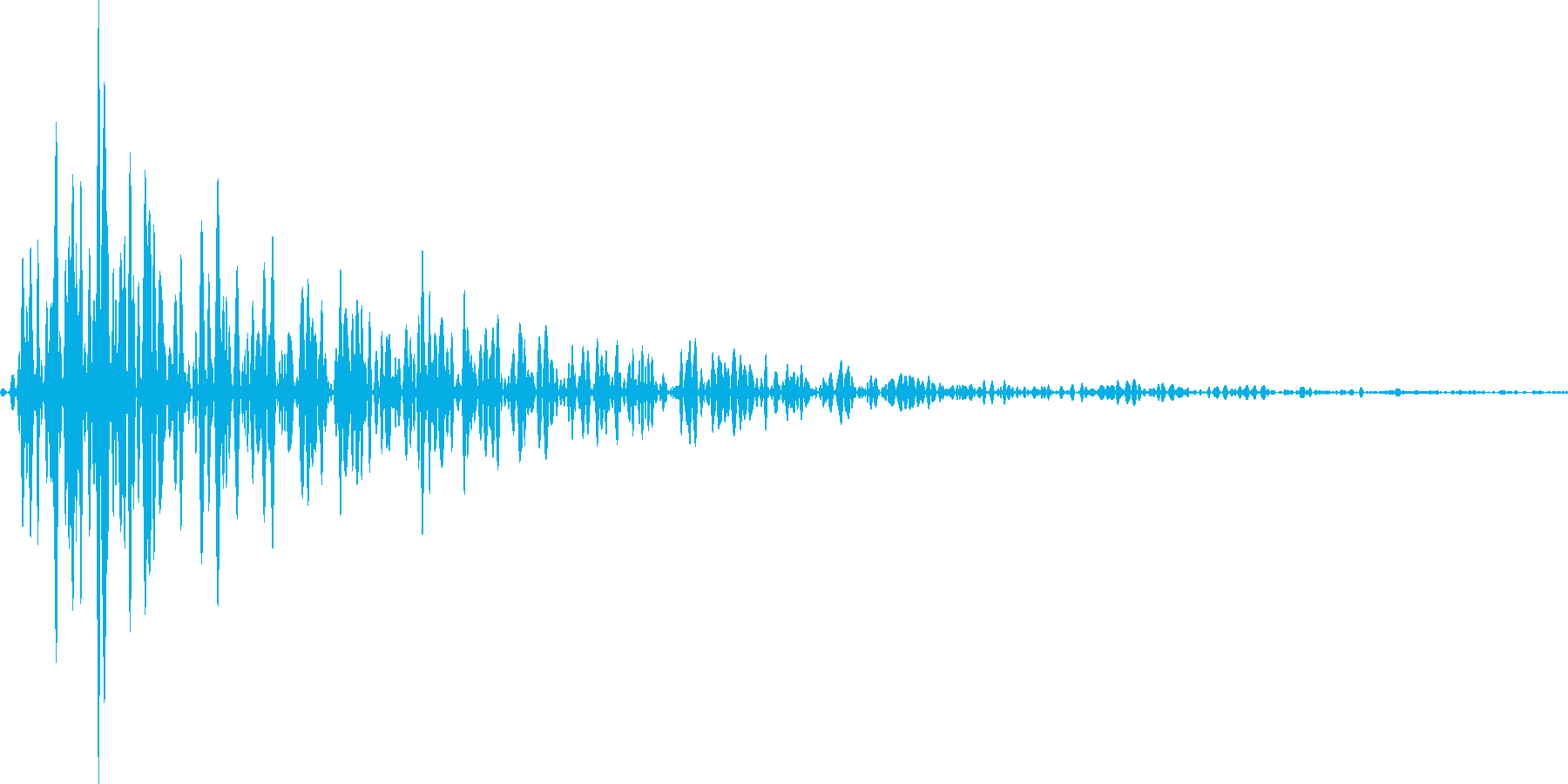 カッ(将棋、囲碁、麻雀などの音)【改】の再生済みの波形