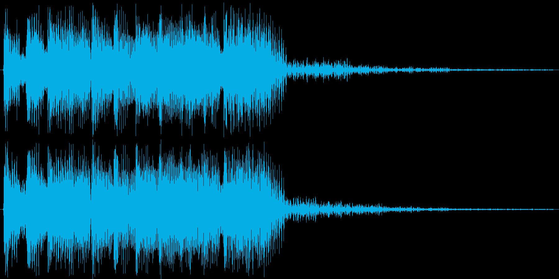 何かが終わった時の音に使えると思いますの再生済みの波形