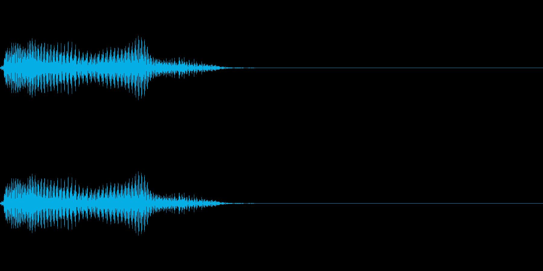 うっ・・!!2の再生済みの波形