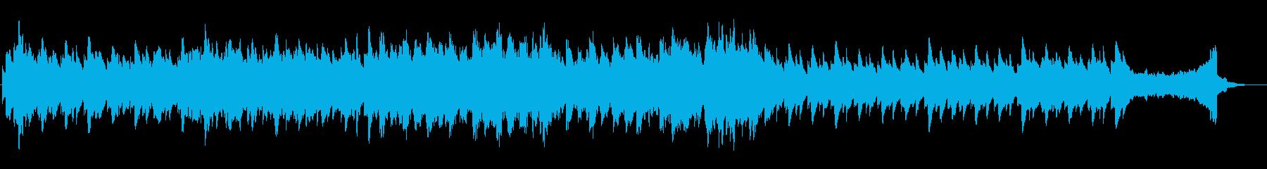 5幻想的な夜の風景 プラネタリウムに最適の再生済みの波形