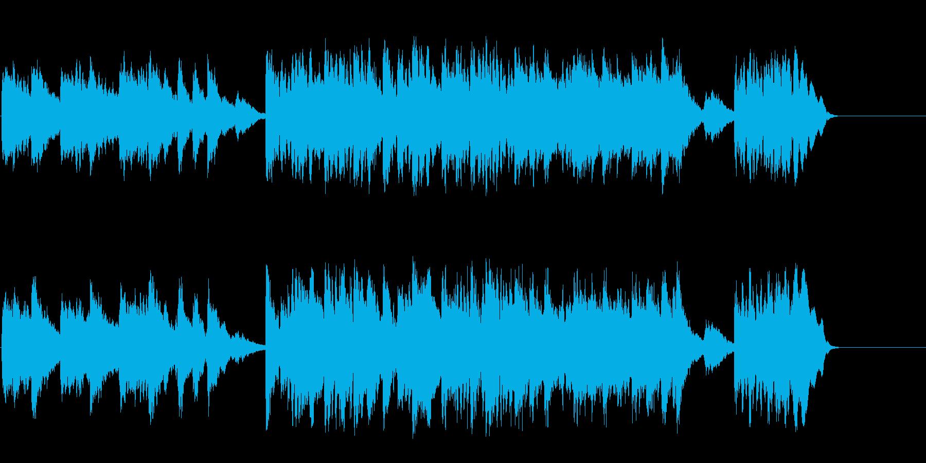 透明なポップバラード(A~B~サビ~…)の再生済みの波形