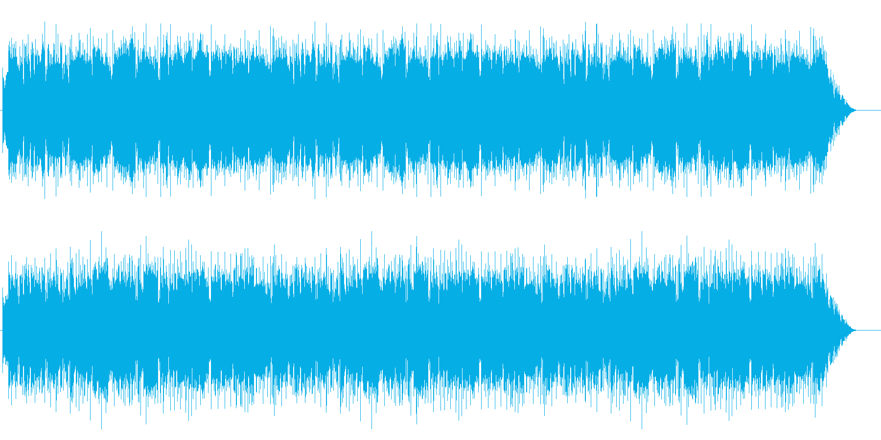 ムードあるボサ風の再生済みの波形