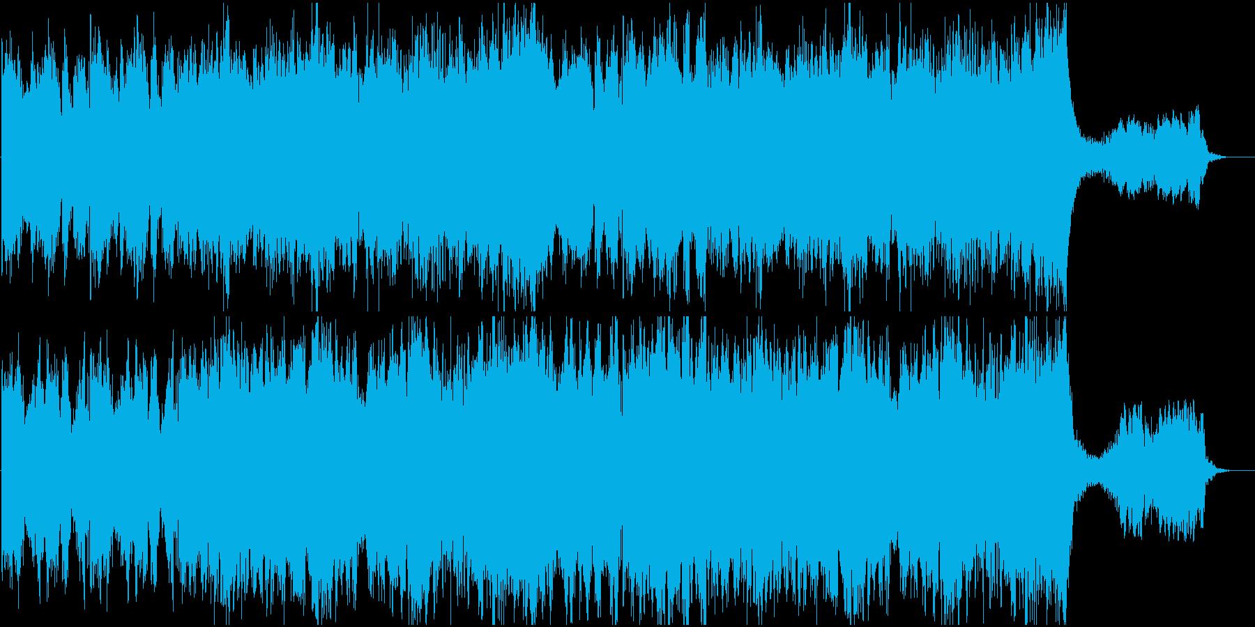 戦闘BGM 荒廃した戦場イメージの再生済みの波形