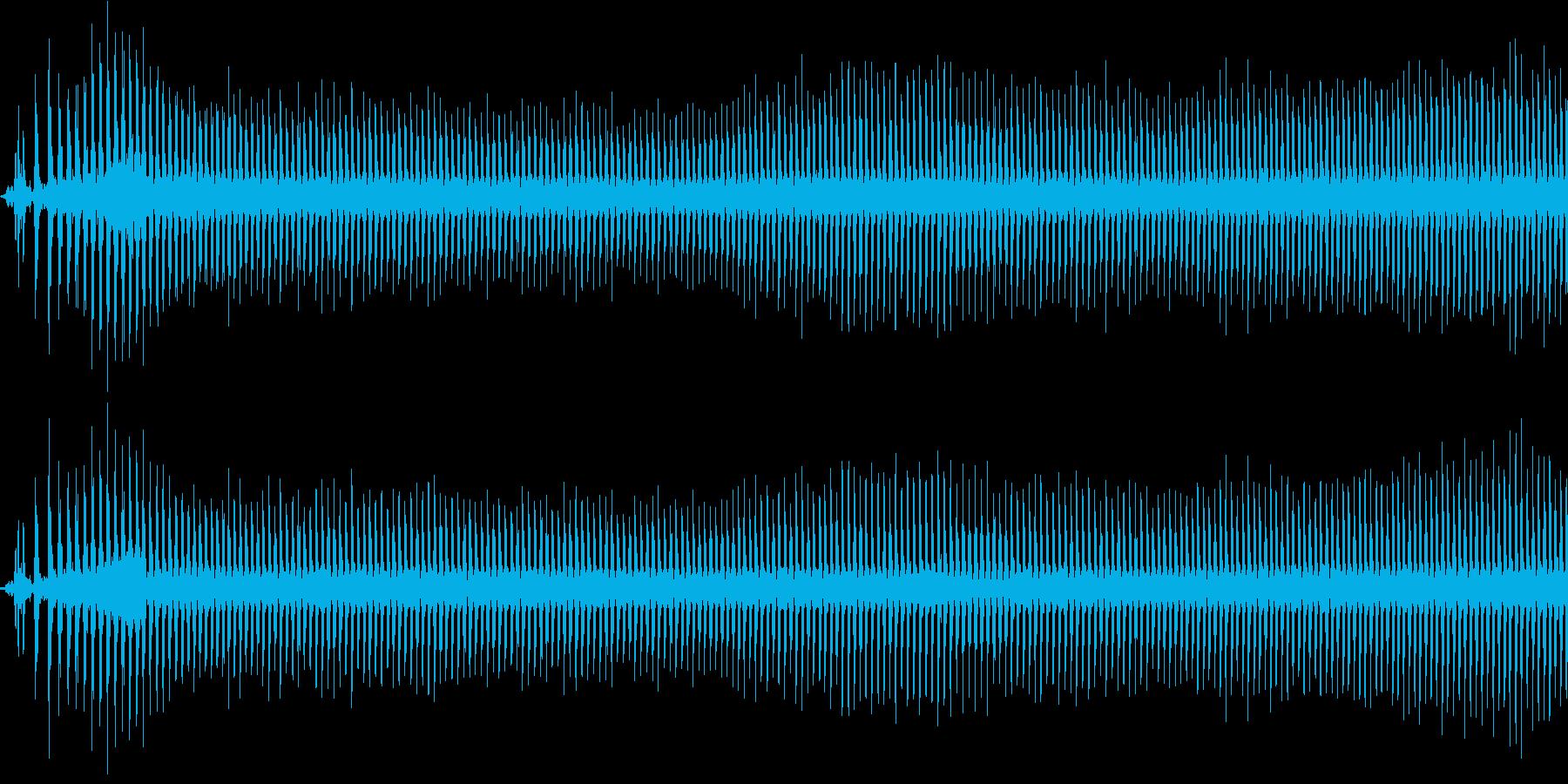 バイクのエンジンをかけるの再生済みの波形