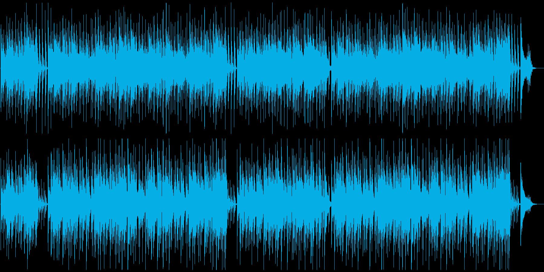 のんびり穏やかなハワイアンBGM♪の再生済みの波形