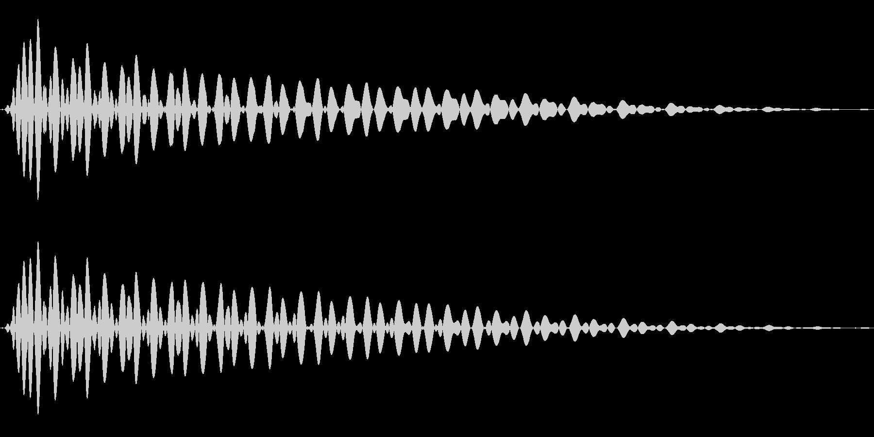 PureTouch アプリ用タッチ音63の未再生の波形