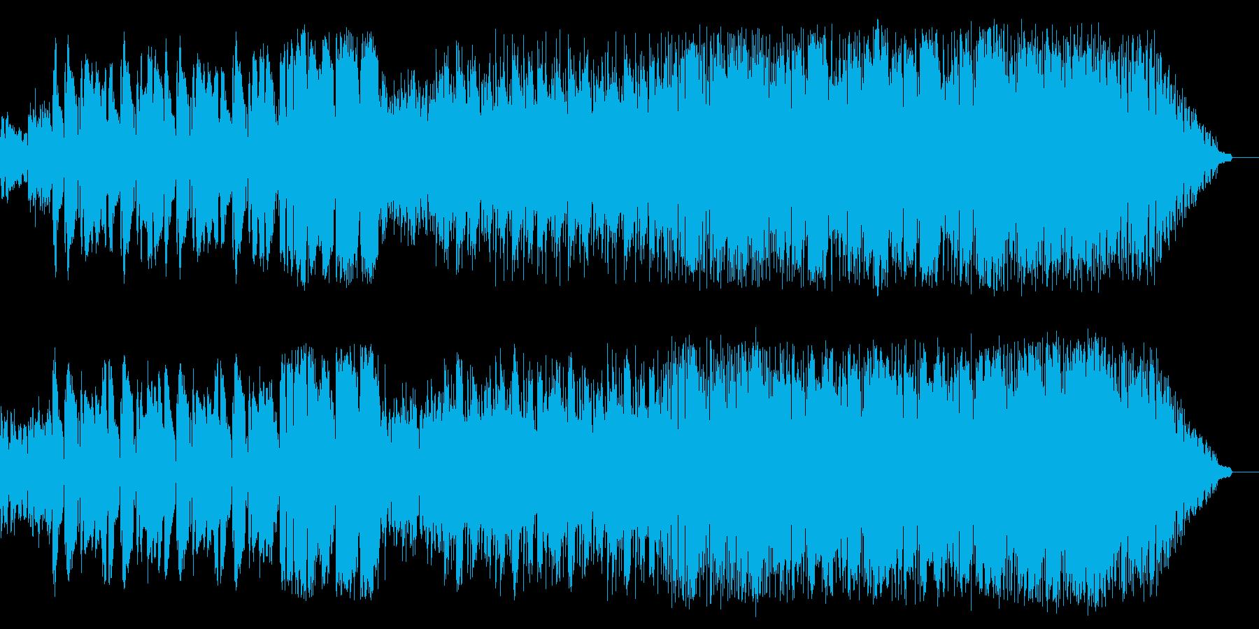 サックス、エレキが奏でる哀愁のブルースの再生済みの波形