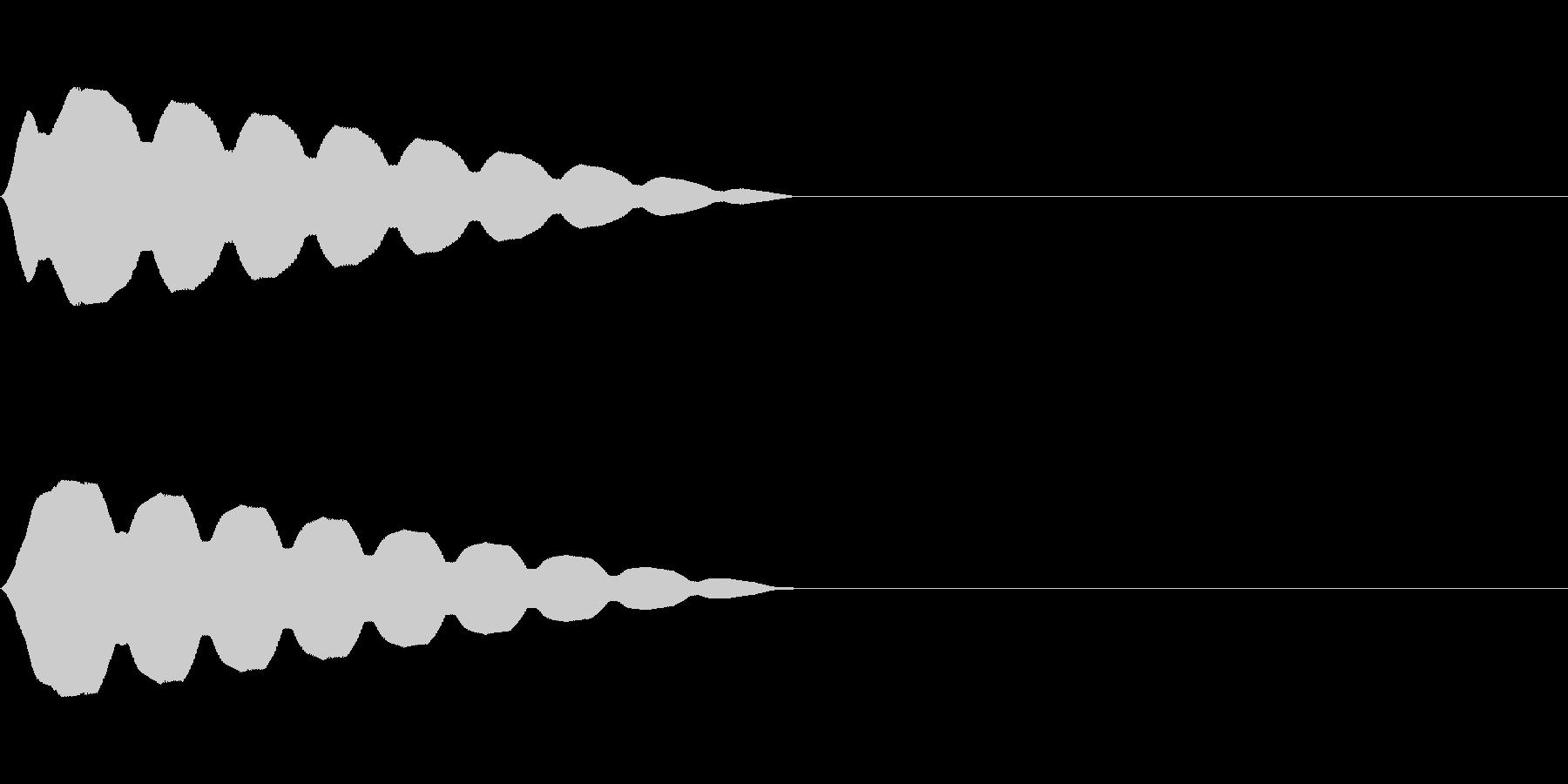キュイン(飛ばされて星になる タイプ8)の未再生の波形