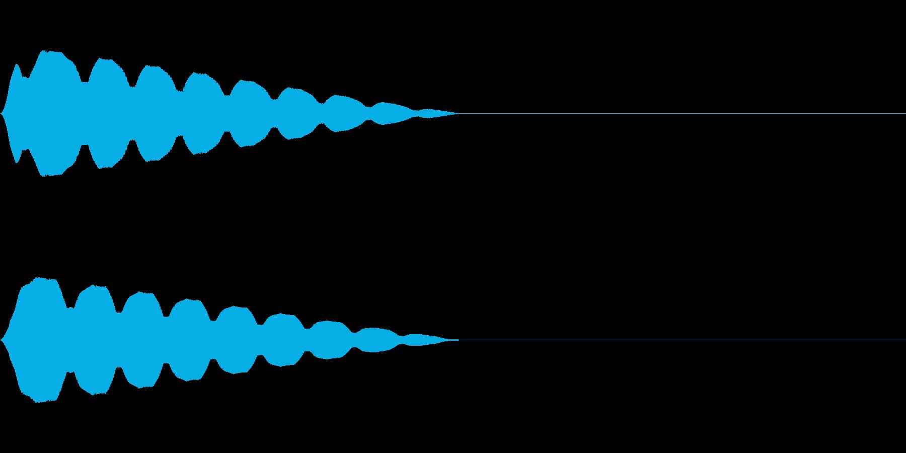 キュイン(飛ばされて星になる タイプ8)の再生済みの波形