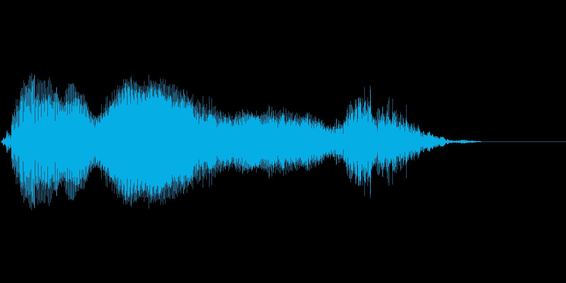 ムニャムニャ…の再生済みの波形