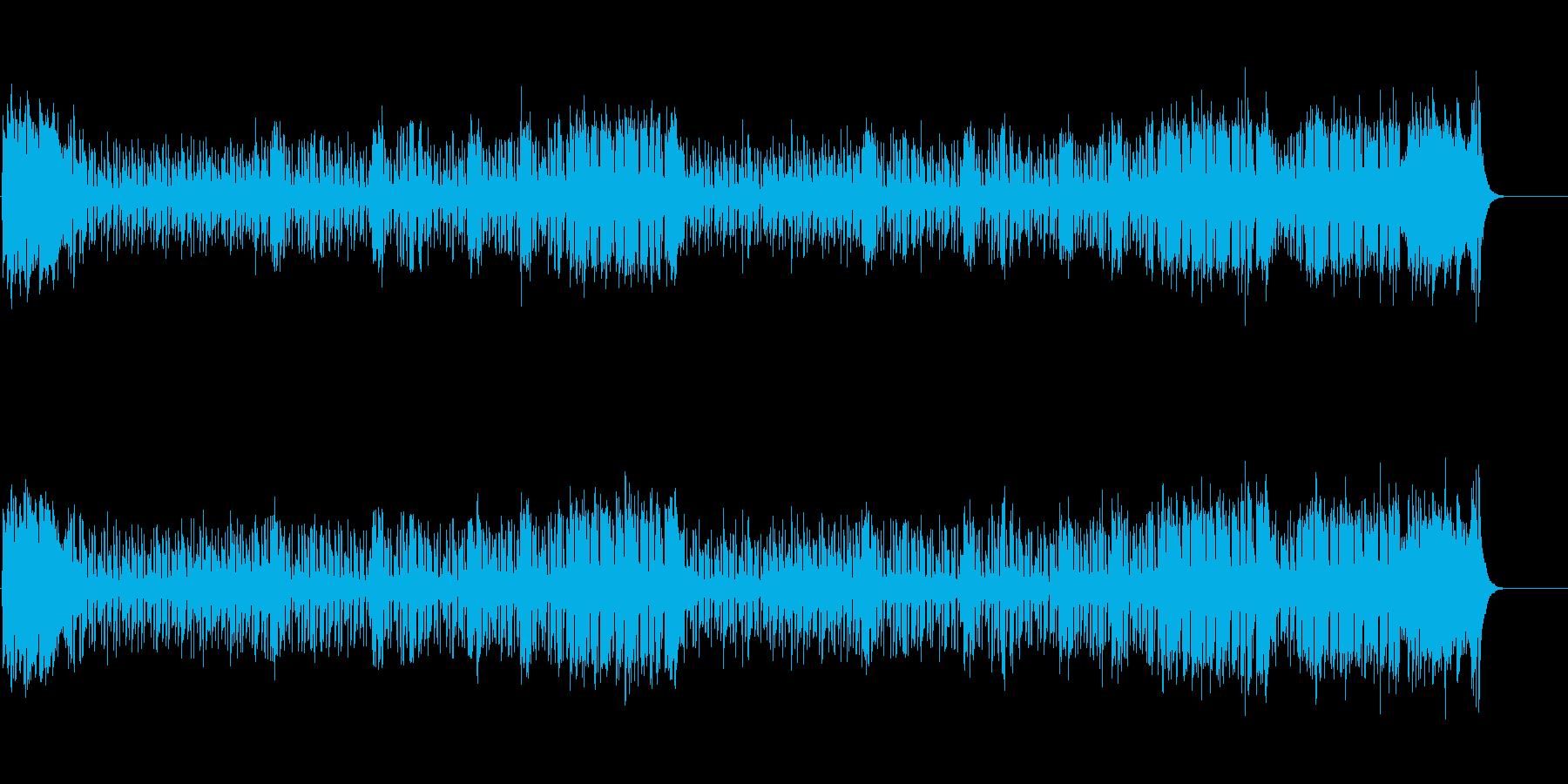 ポップ&ファンキー(オープニング向き)の再生済みの波形