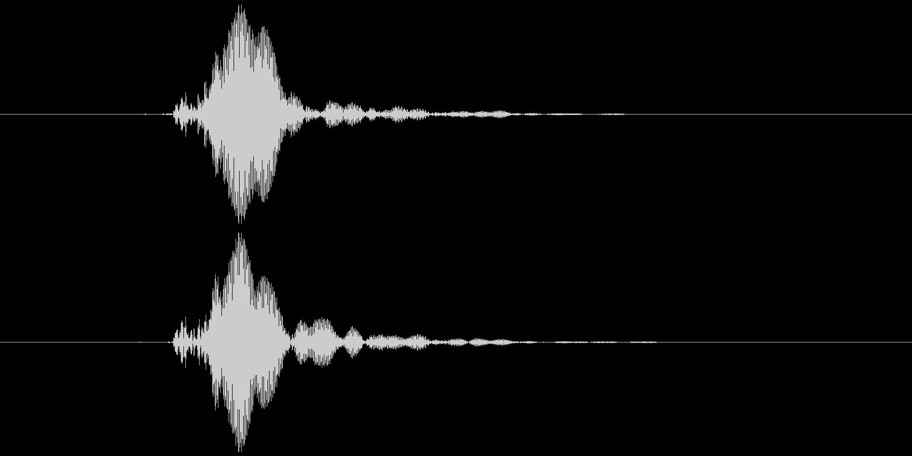 ピコピコハンマー ピッ (低め)の未再生の波形