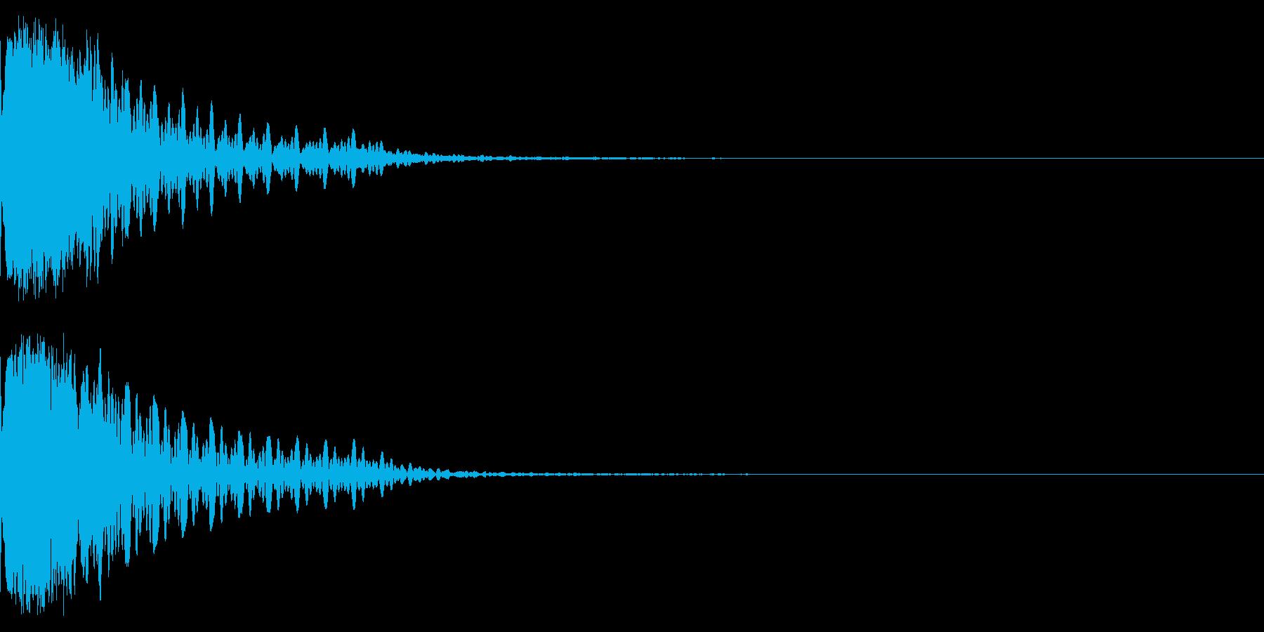 キュイーン!パチンコのあの音。の再生済みの波形