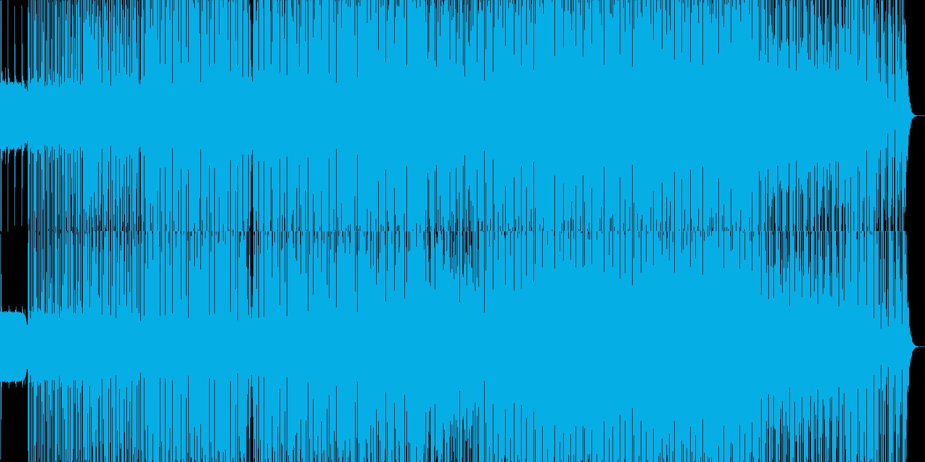 優しく美しく切なく力強いエレクトロの再生済みの波形