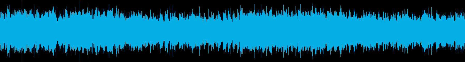 にぎやかで楽しげな雰囲気のケルト音楽の再生済みの波形