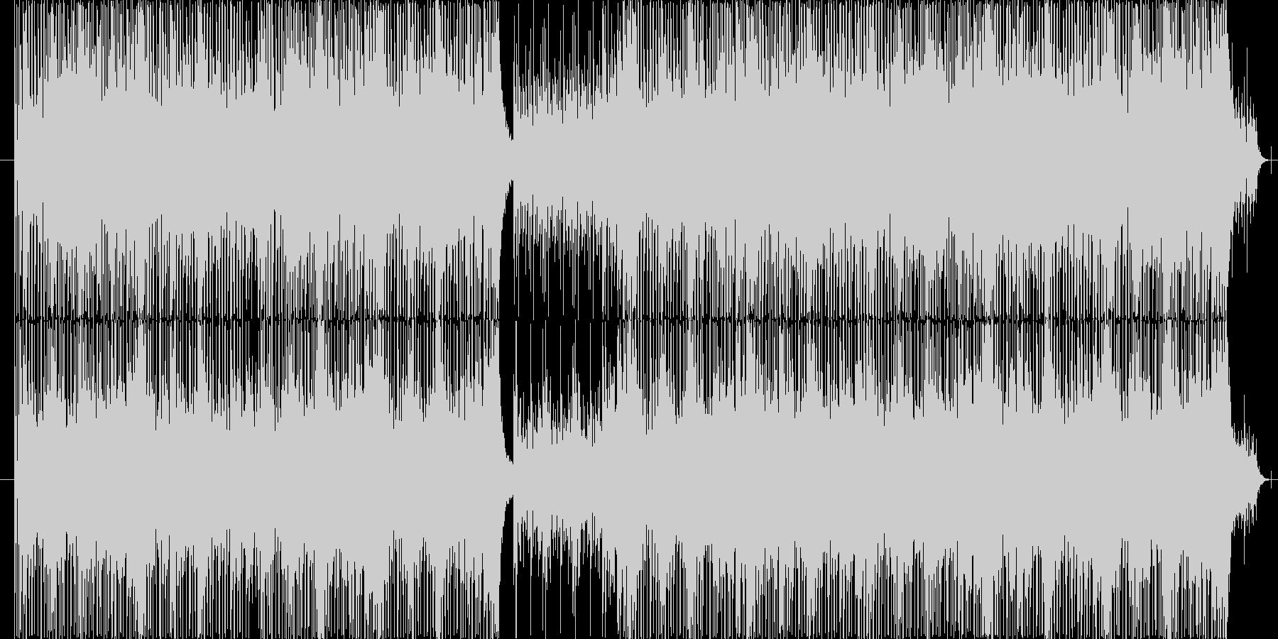ピアノをメインにミステリアスに仕上げま…の未再生の波形