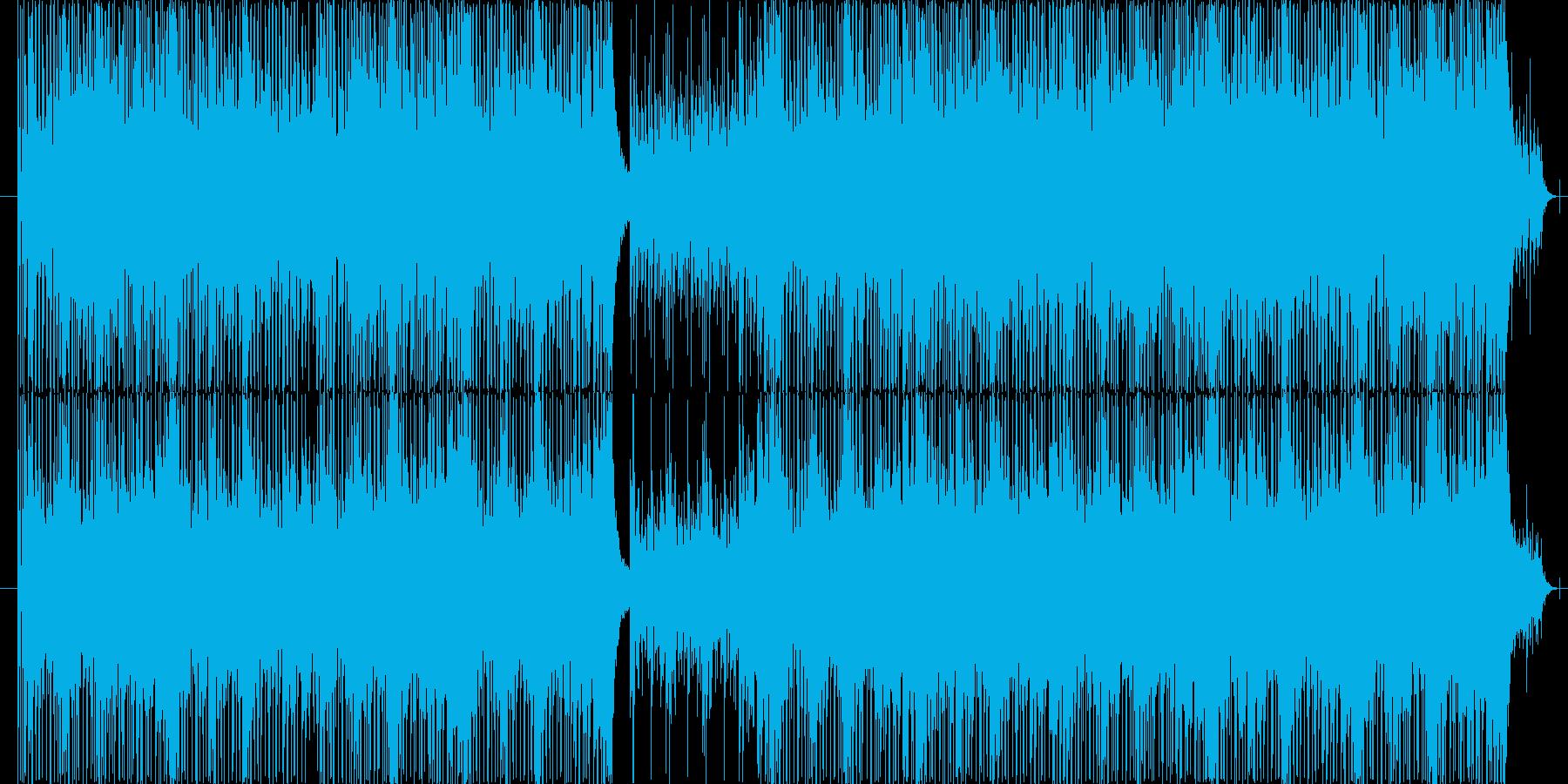 ピアノをメインにミステリアスに仕上げま…の再生済みの波形