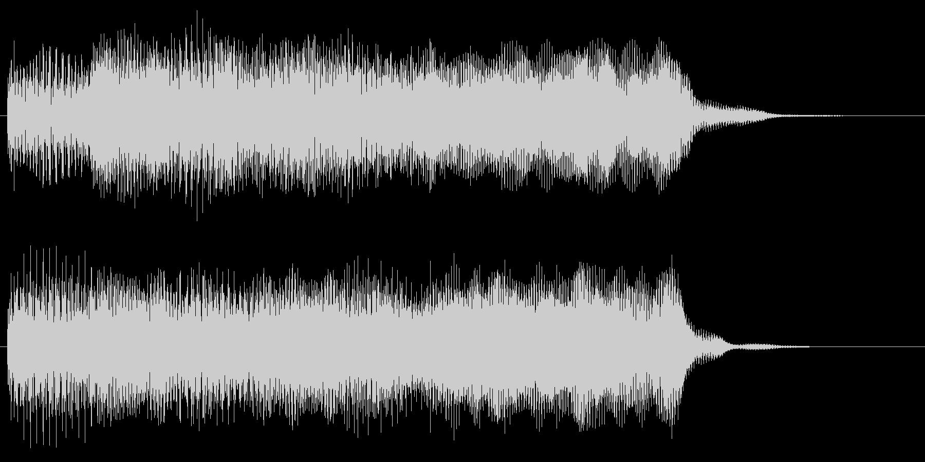 ステージクリア 目標達成 場面転換音の未再生の波形