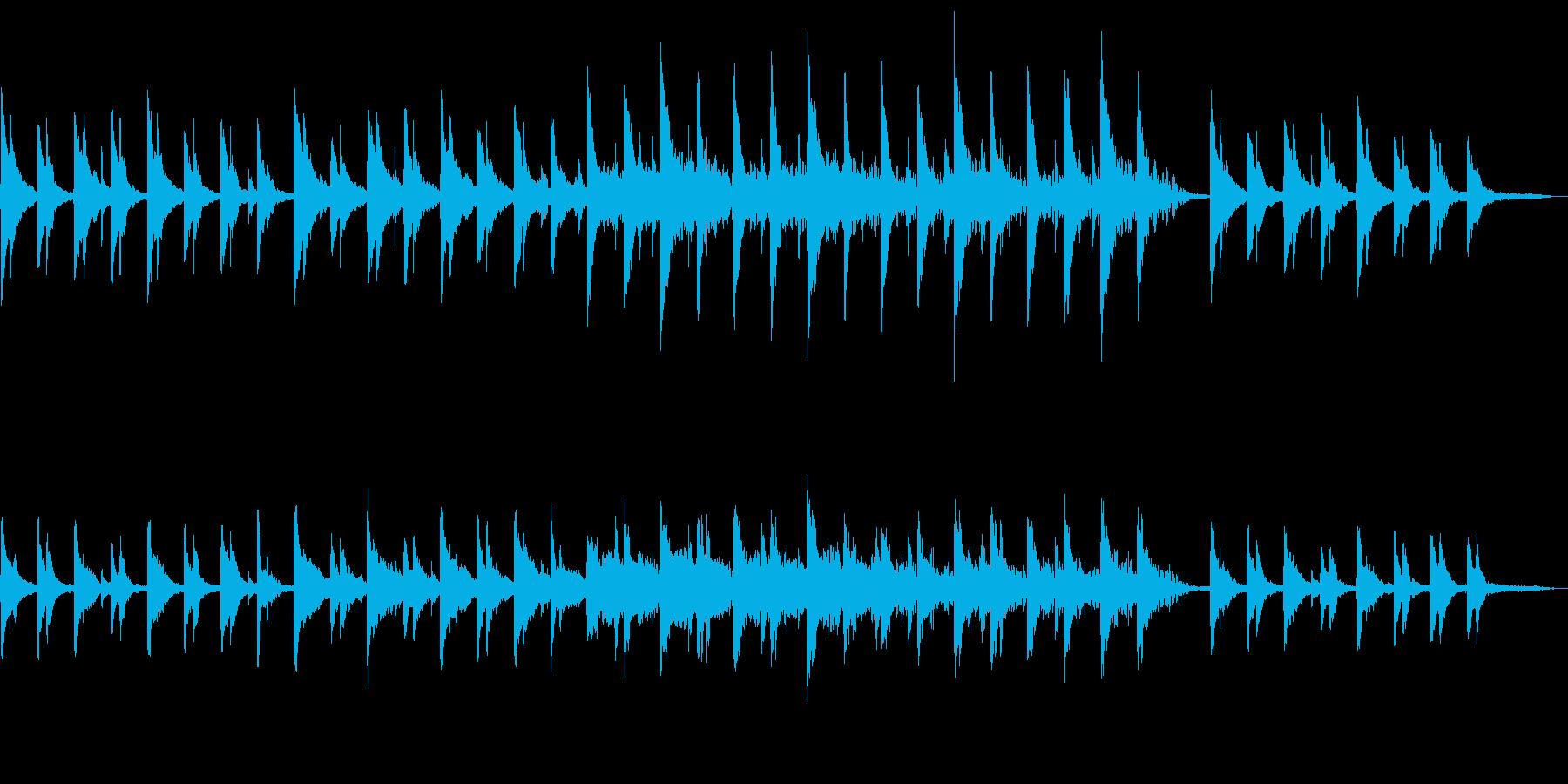 静かで沁みるコーポレート向けピアノの再生済みの波形