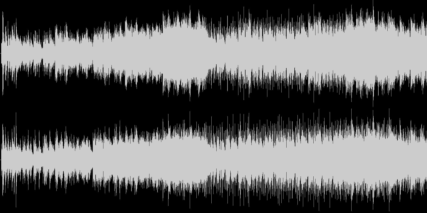 可憐で優しいピアノサウンドの未再生の波形