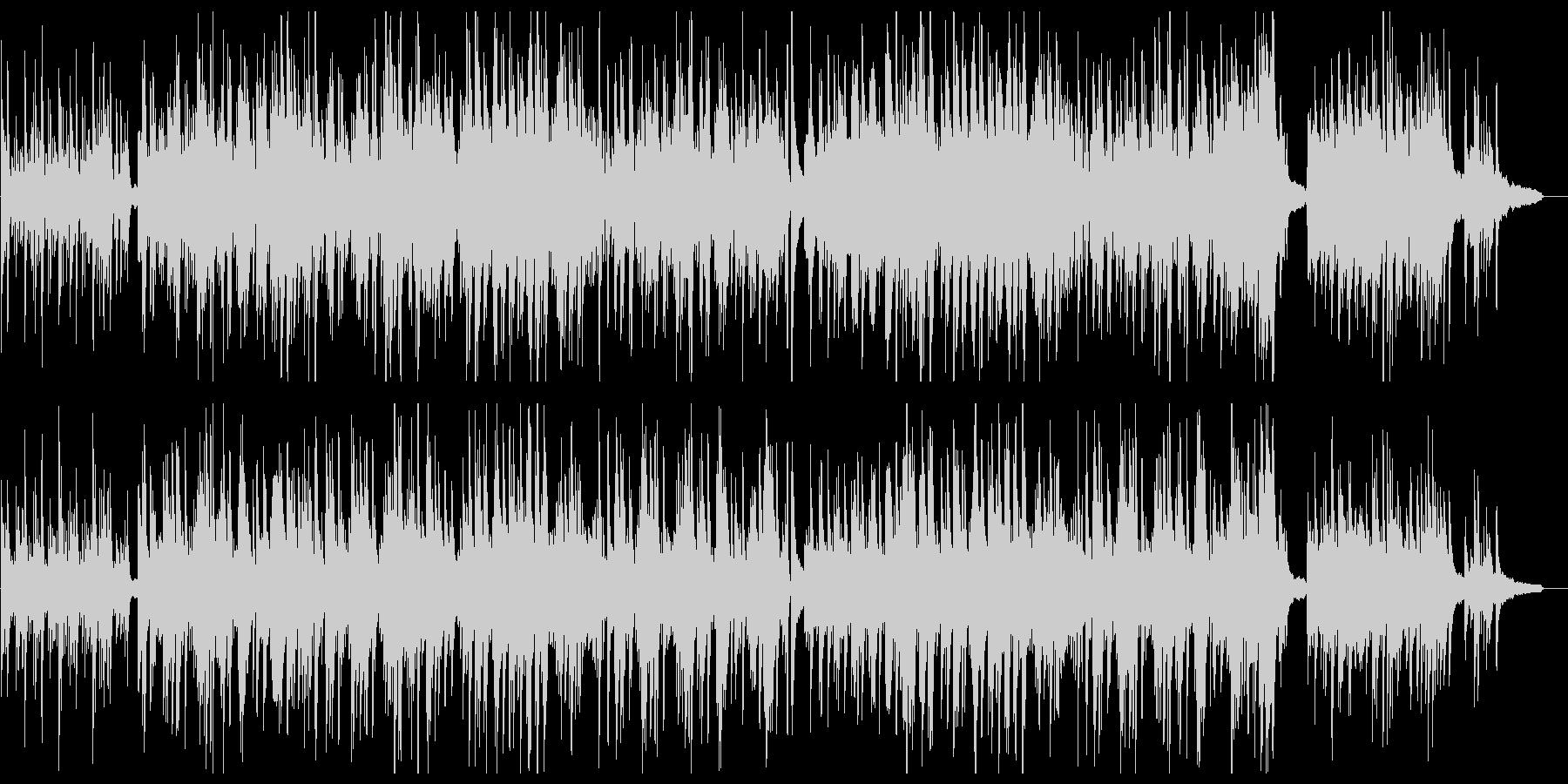 ピアノソロが優しいポップスの未再生の波形