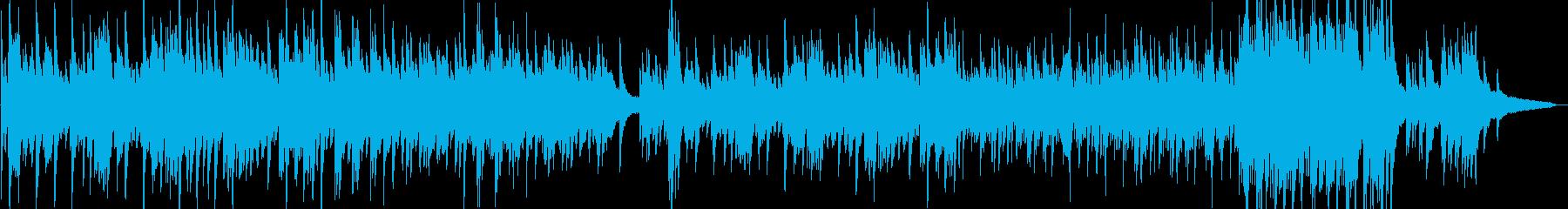 ピアノソロで企業VP映像OPにの再生済みの波形