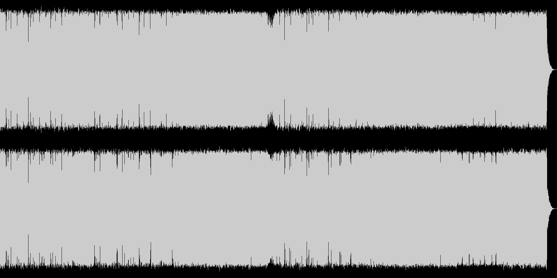険しい山を演出したメタルギター系の曲【…の未再生の波形