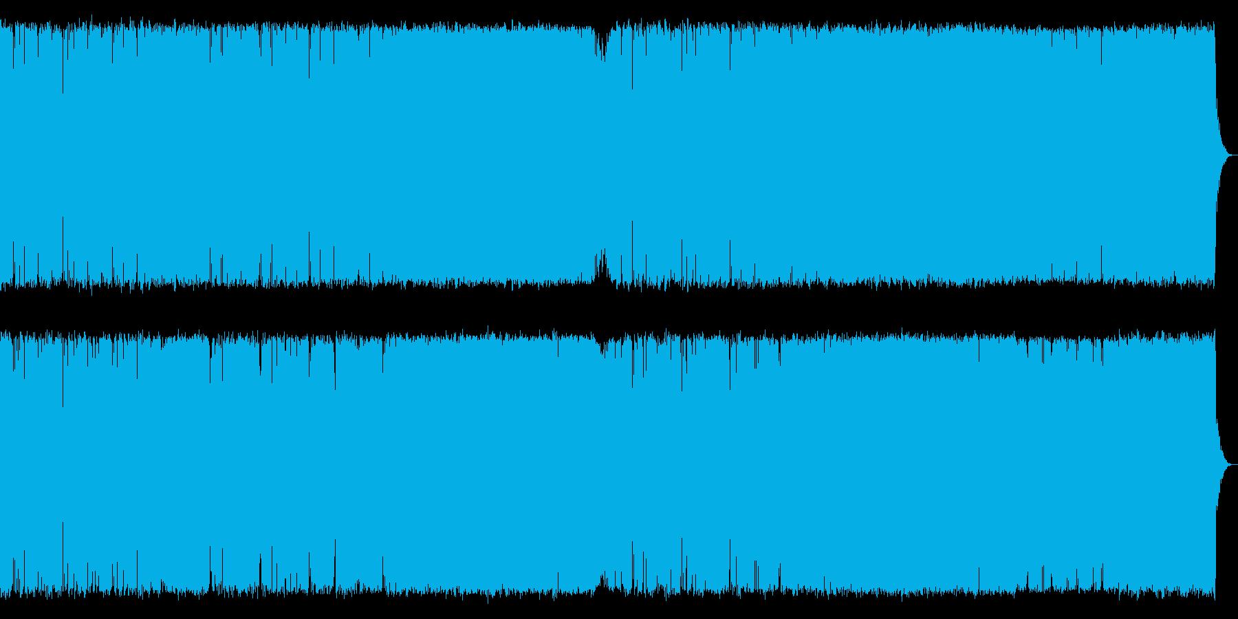 険しい山を演出したメタルギター系の曲【…の再生済みの波形
