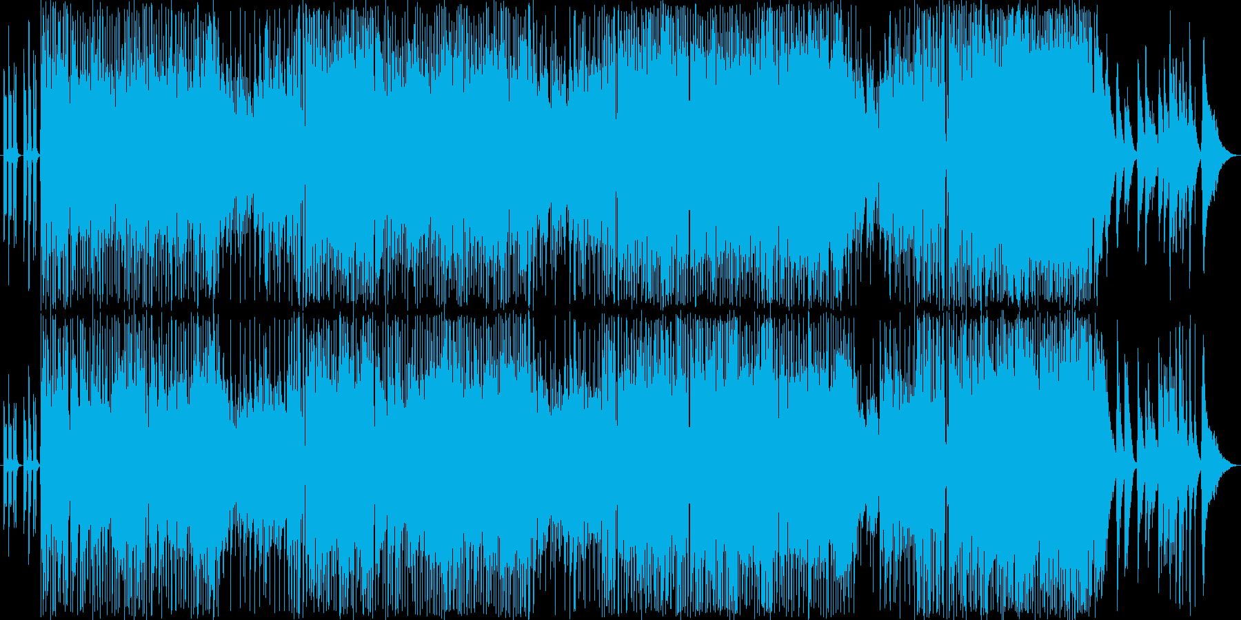 クールでミステリアスなイメージの再生済みの波形