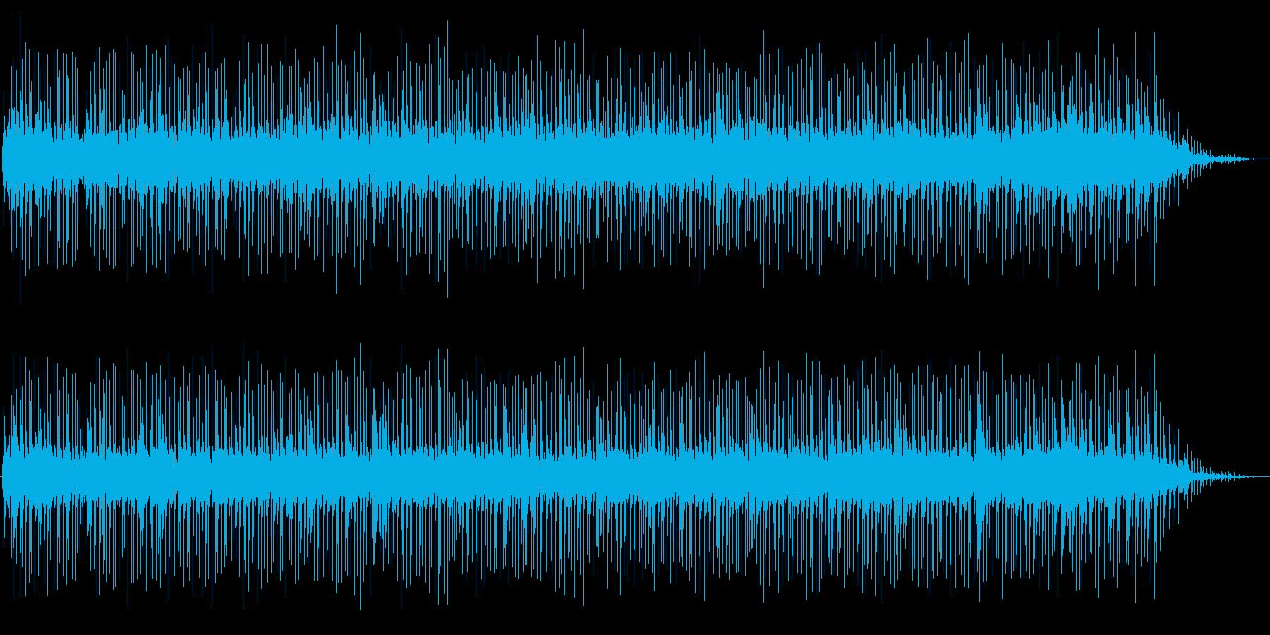 透明感のあるニューミュージックの再生済みの波形