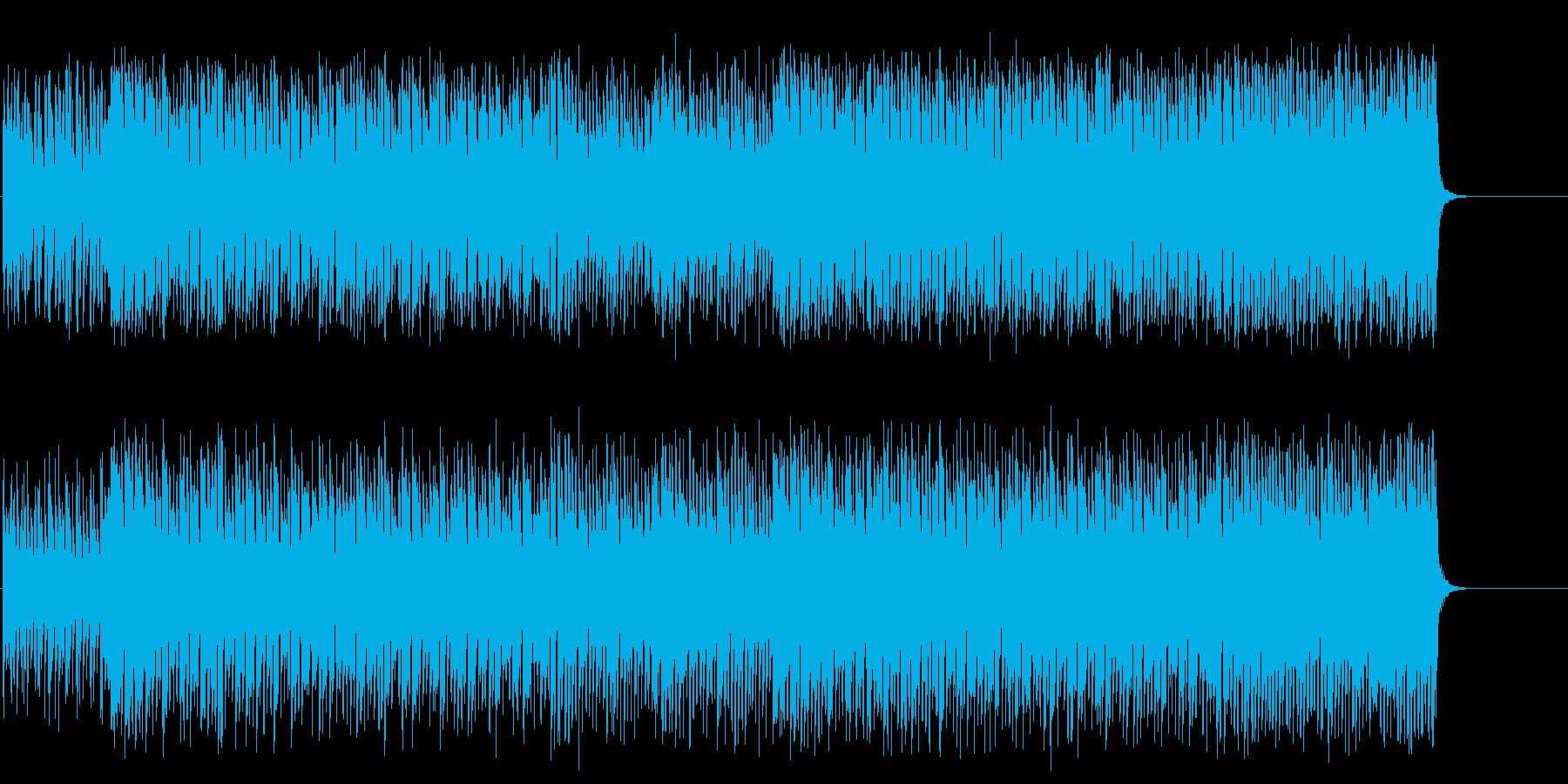 エスニックなポップ/テクノ/テーマの再生済みの波形