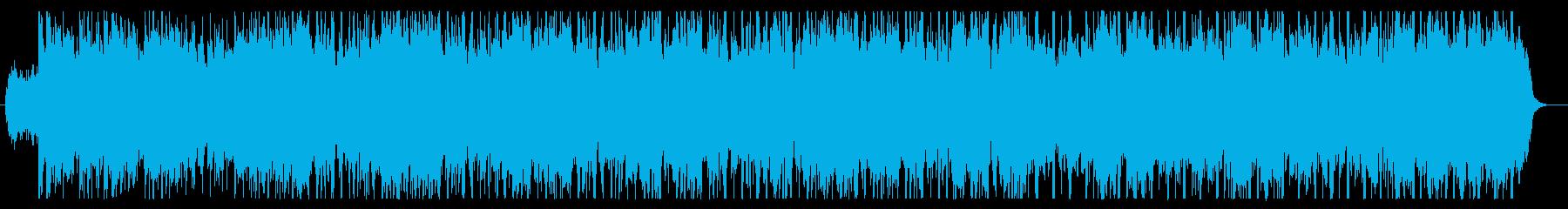 ピアノとストリングスの爽やかなグルーブの再生済みの波形