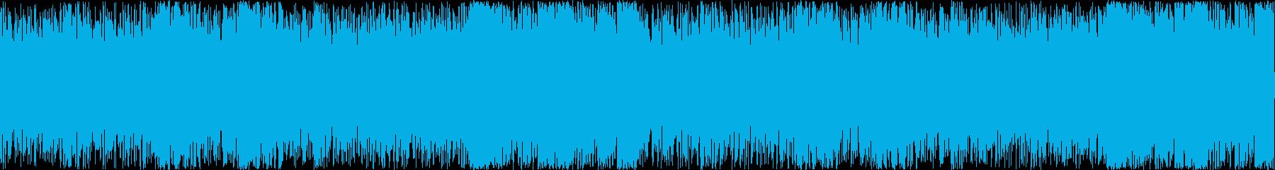 疾走感のあるシリアスなアンビエントロックの再生済みの波形