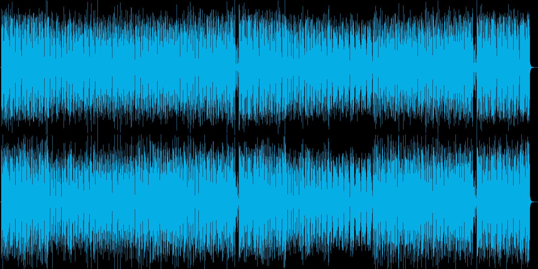 ステップを踏みたくなる軽快なサウンドの再生済みの波形