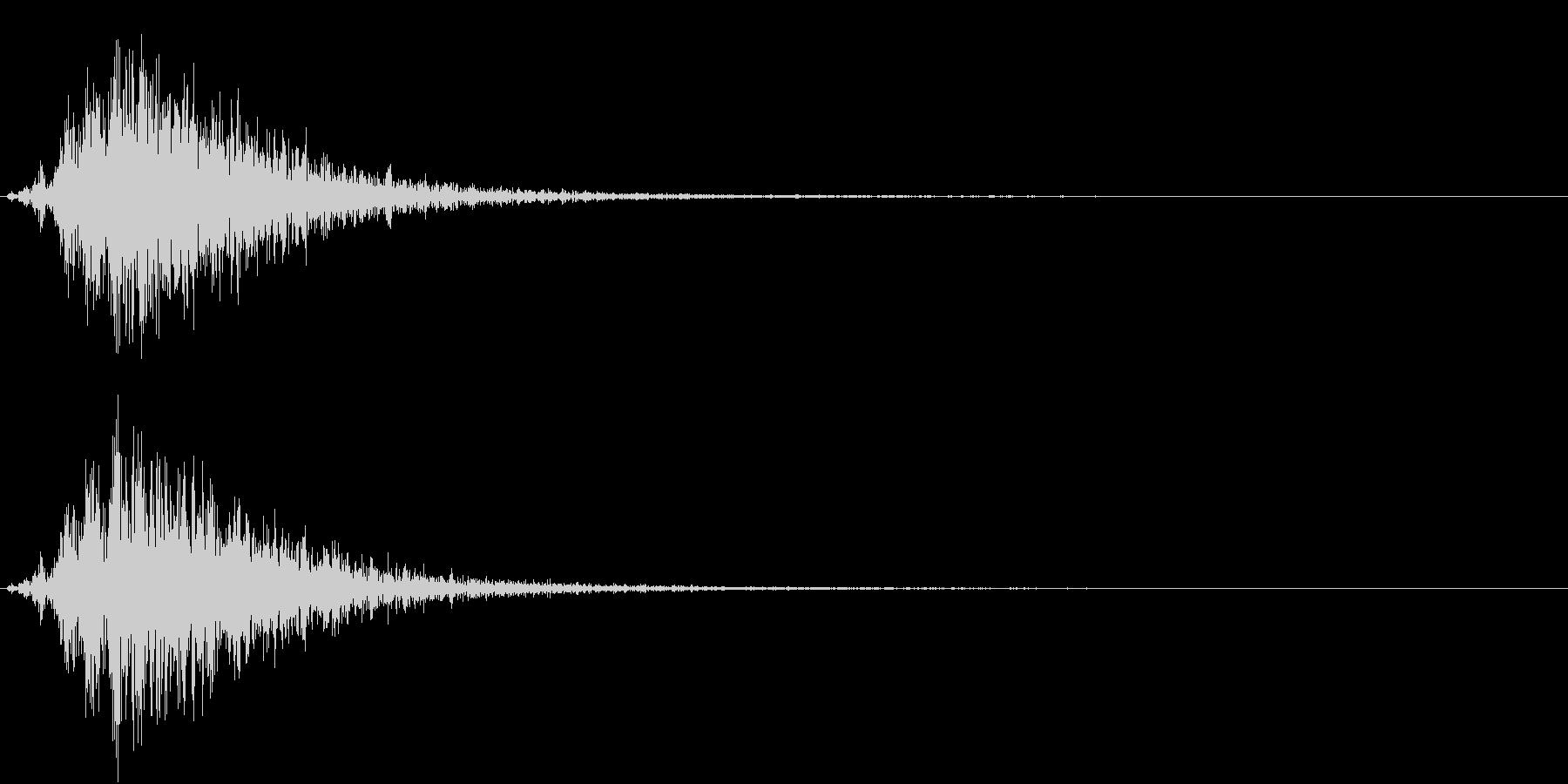 Battle 戦闘エフェクト音 3の未再生の波形