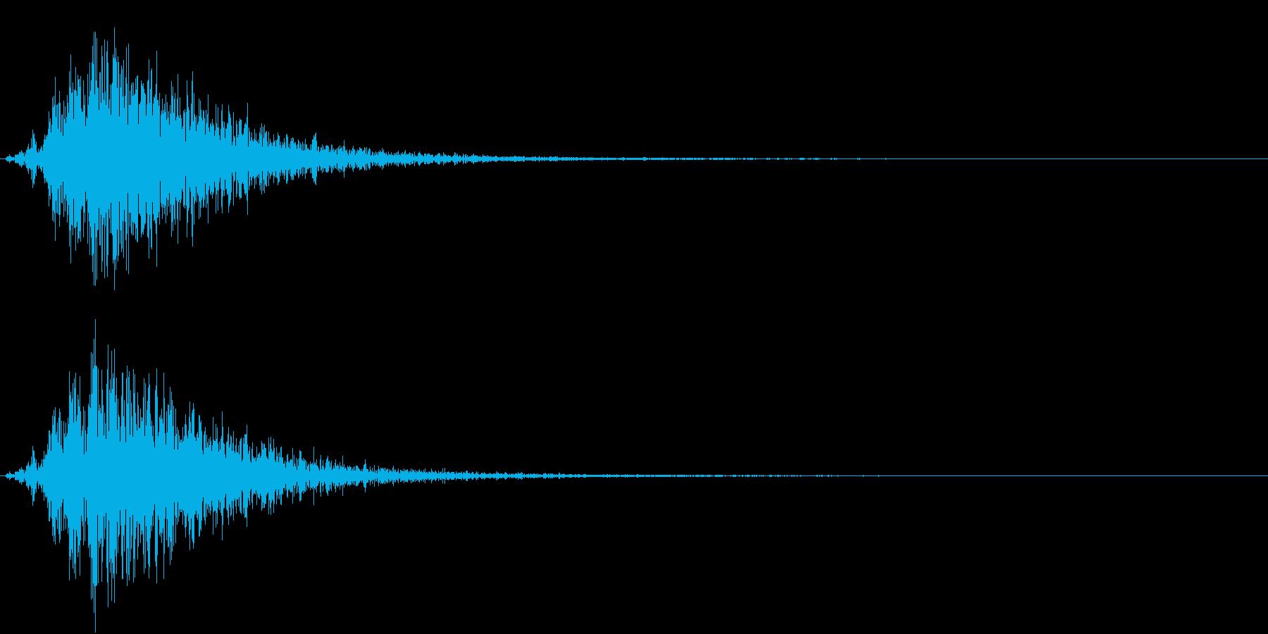 Battle 戦闘エフェクト音 3の再生済みの波形