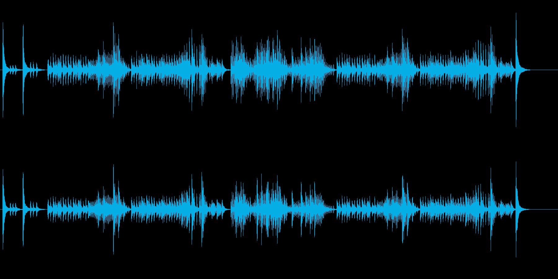 ストリングスの調べによる愉快なポルカの再生済みの波形