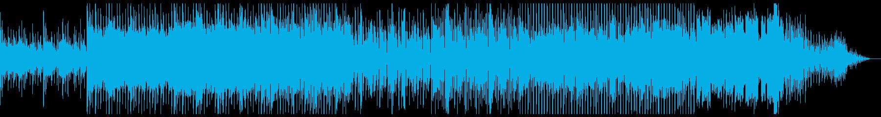 アンビエントなディープテクノの再生済みの波形