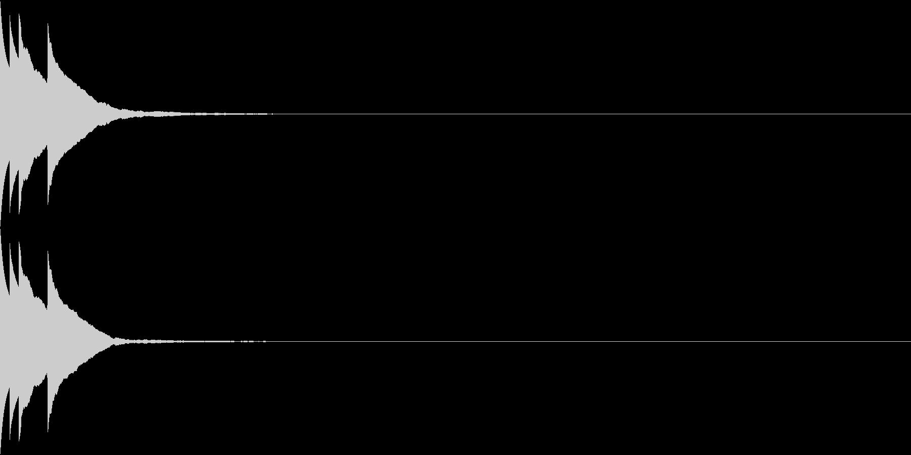 Bank 汎用性のある通知・認証音 16の未再生の波形