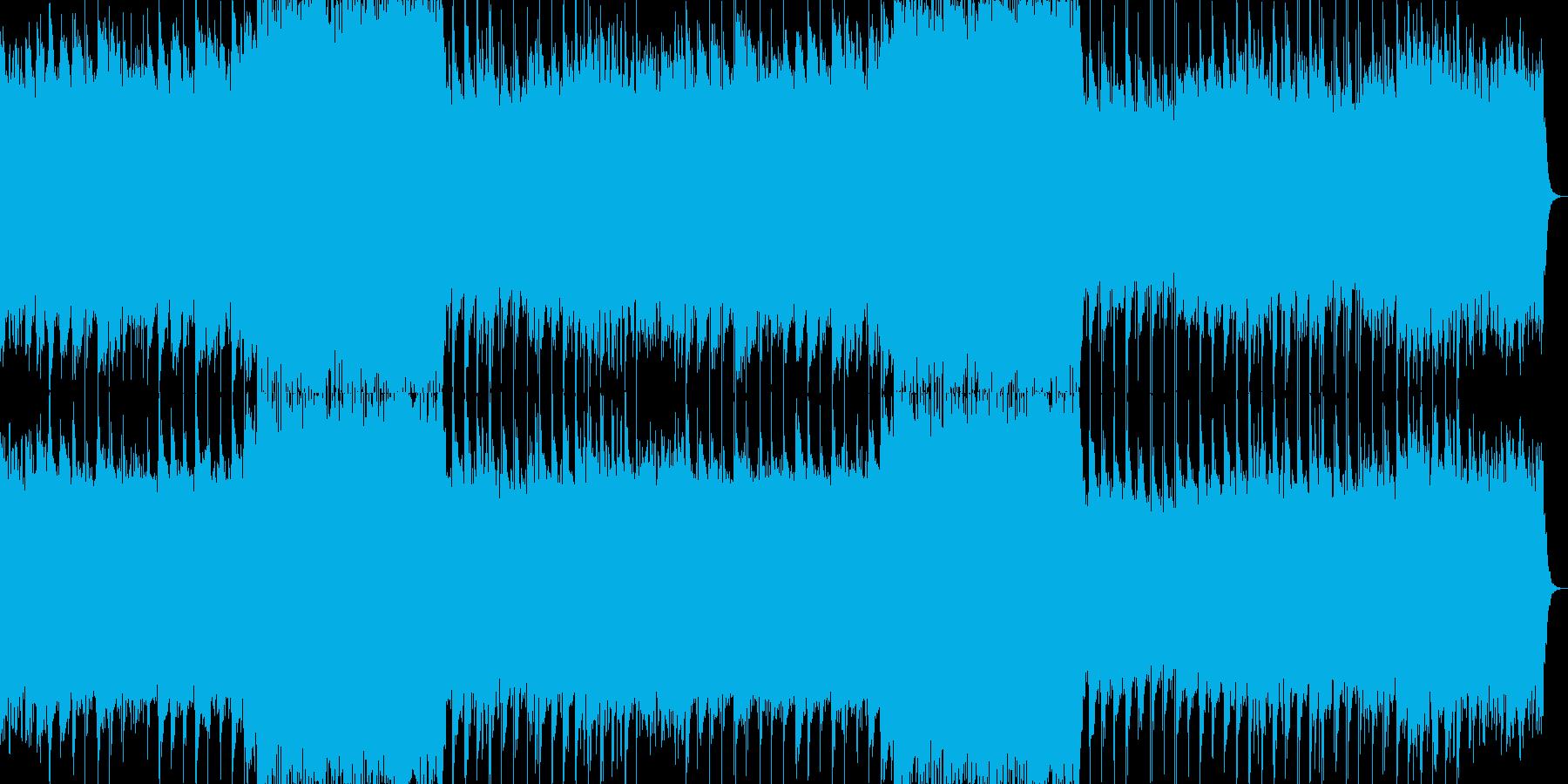 大宇宙の広がりをイメージしたバラードの再生済みの波形