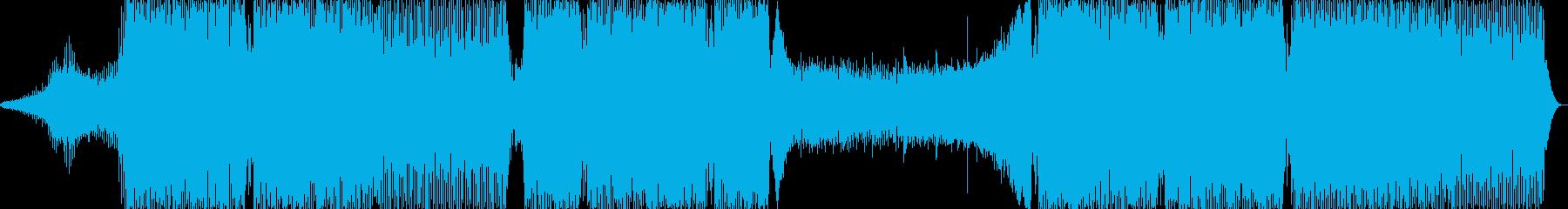 ピアノハウスの再生済みの波形