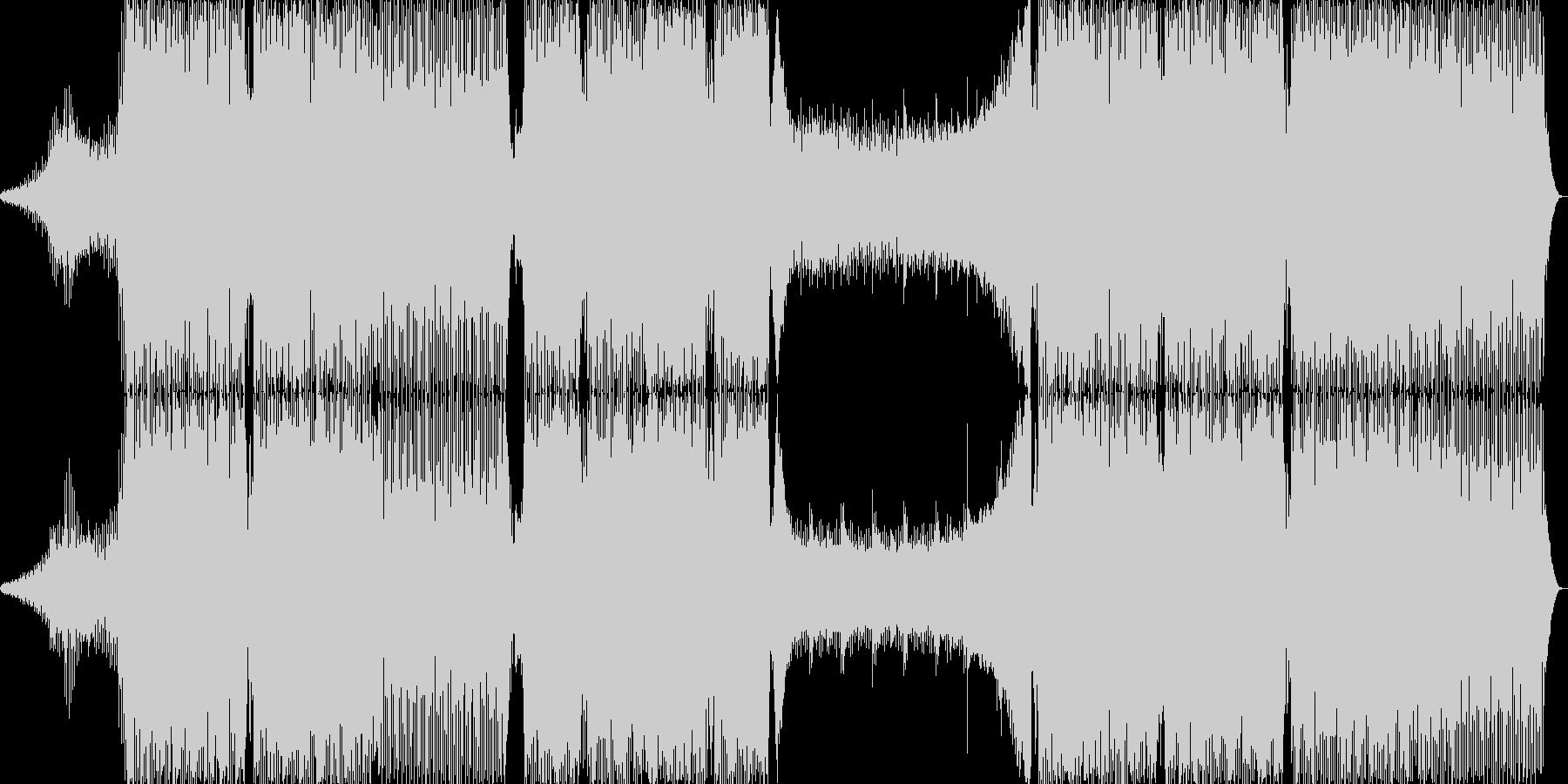 ピアノハウスの未再生の波形