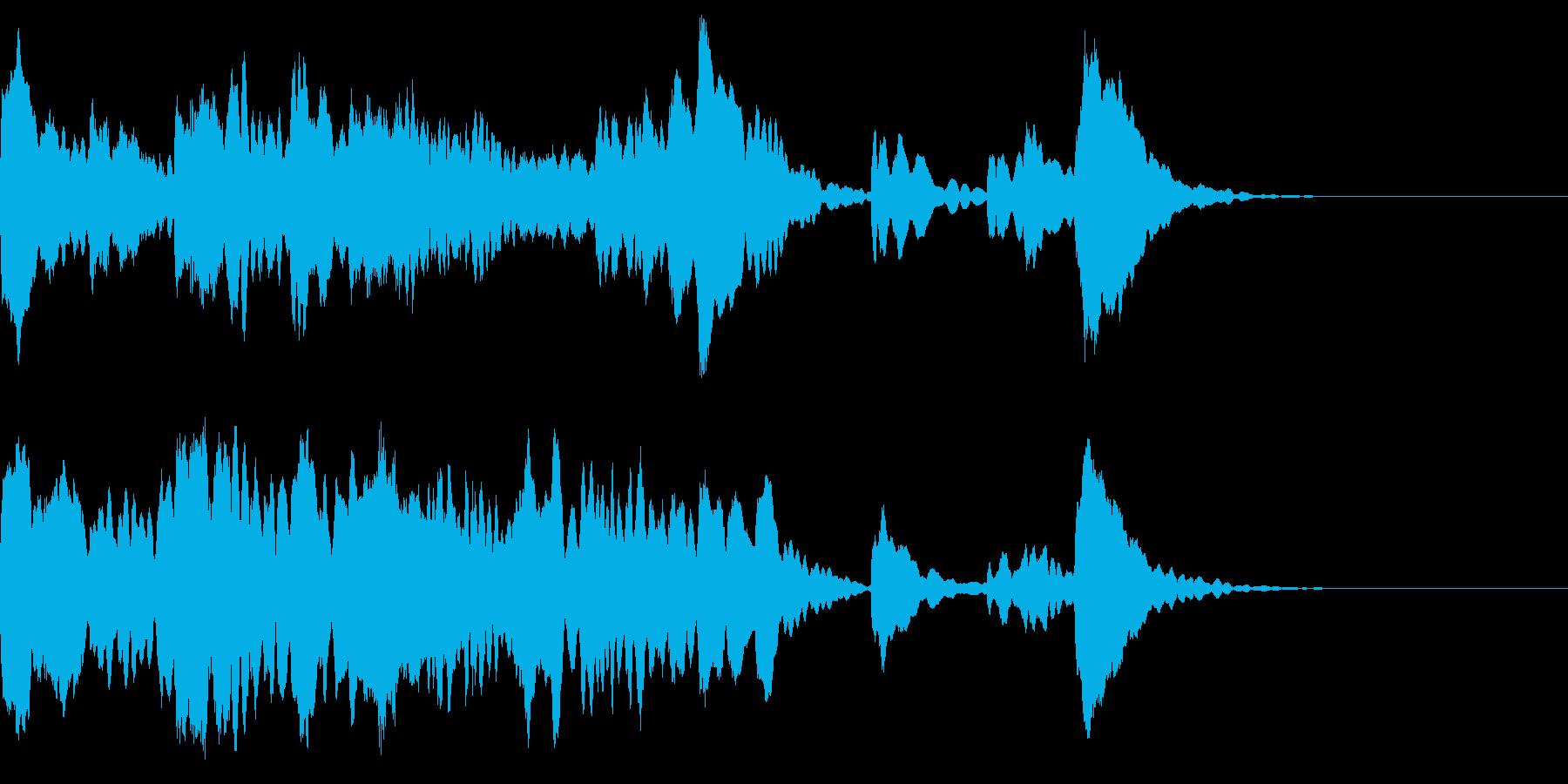 神秘的なクリスタル音05- ジングルCMの再生済みの波形