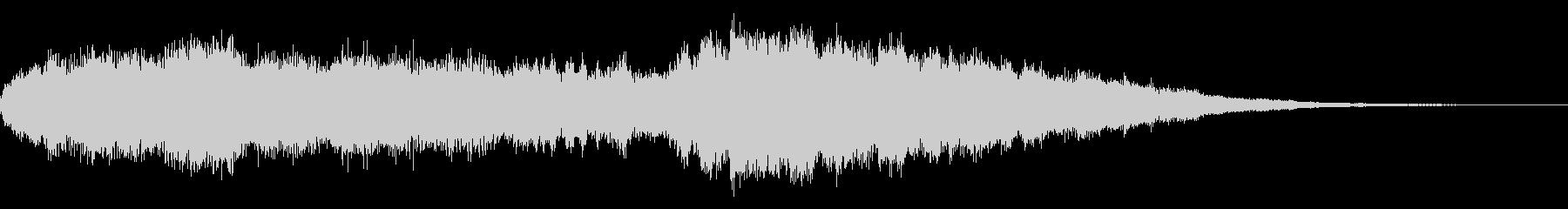 サウンドロゴ、ジングル(ベル/シンセ)の未再生の波形
