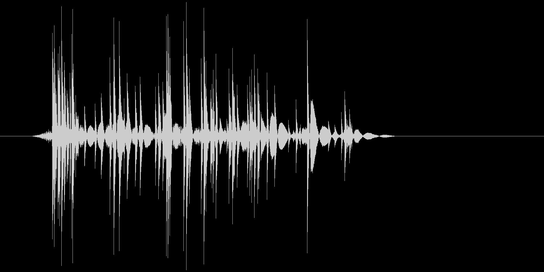 ゲーム(ファミコン風)爆発音_026の未再生の波形